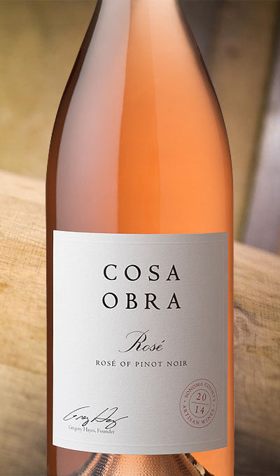 2014 Rose of Pinot Noir, Sonoma County