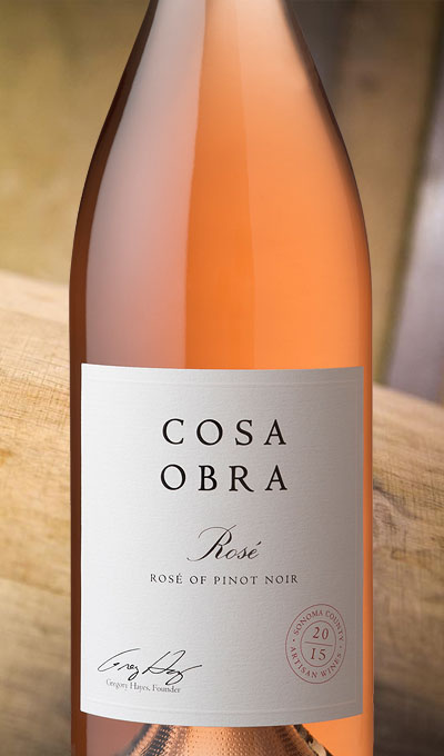 2015 Rose of Pinot Noir, Sonoma County